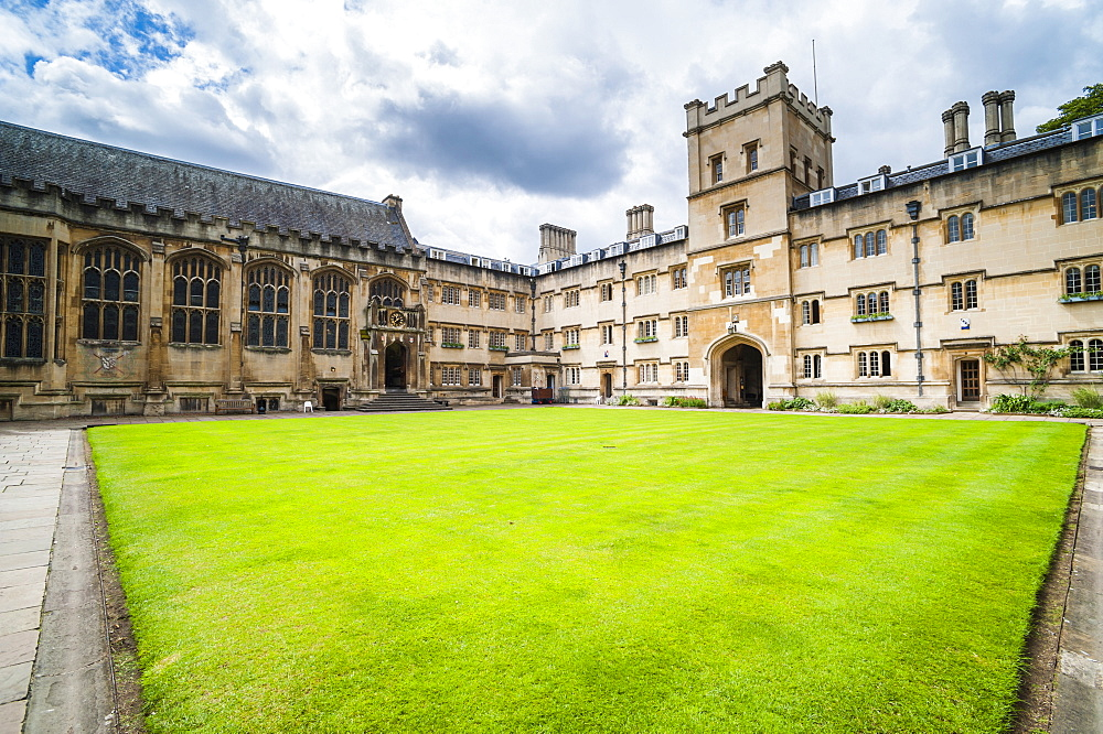 Exeter College, University of Oxford, Oxfordshire, England, United Kingdom, Europe