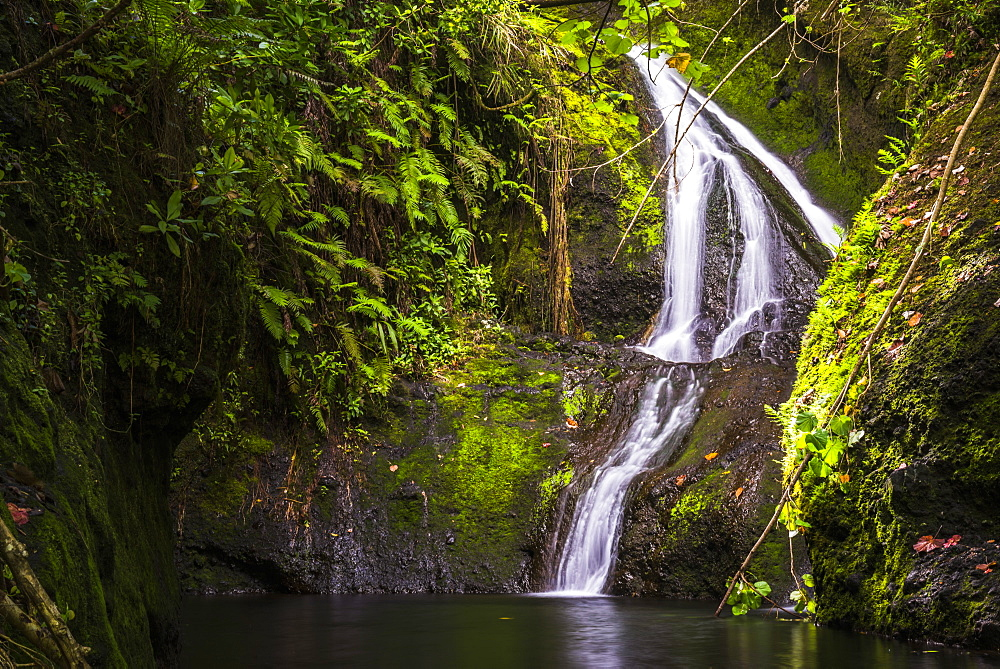 Wigmore's Waterfall, Rarotonga, Cook Islands, South Pacific, Pacific