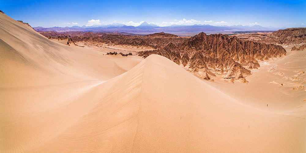 Sand dunes at Death Valley (Valle de la Muerte), San Pedro de Atacama, Atacama Desert, North Chile, Chile, South America