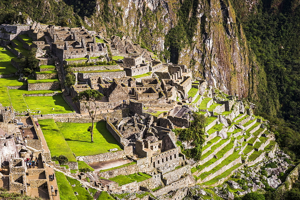 Machu Picchu Inca ruins, UNESCO World Heritage Site, Cusco Region, Peru, South America