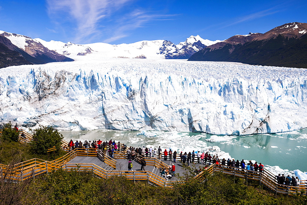 Perito Moreno Glaciar, Los Glaciares National Park, UNESCO World Heritage Site, near El Calafate, Patagonia, Argentina, South America - 1109-2125