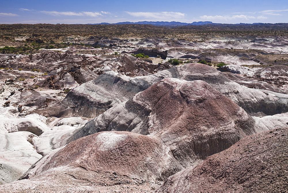 Valley of the Moon (Valle de la Luna), Ischigualasto Provincial Park, San Juan Province, North Argentina, South America