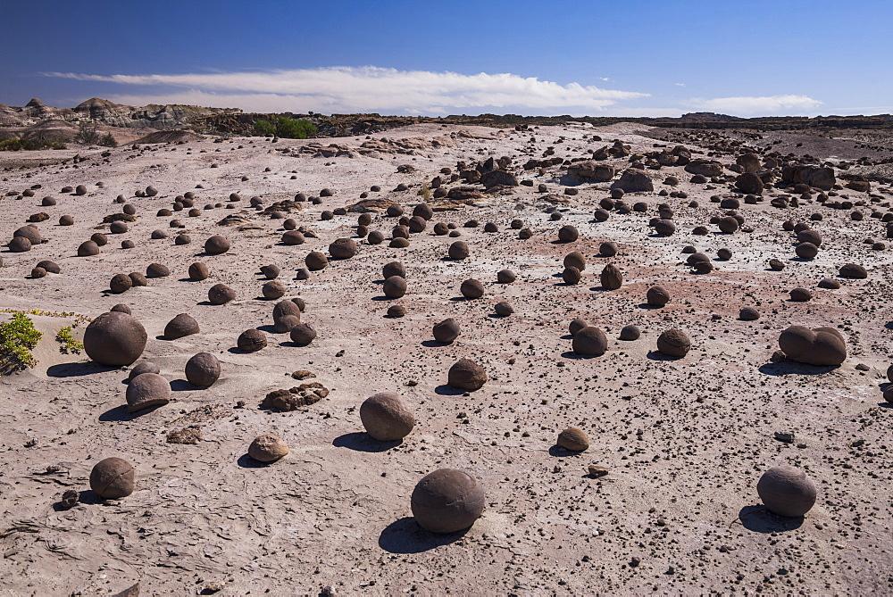 Boulders at Valley of the Moon (Valle de la Luna), Ischigualasto Provincial Park, San Juan Province, North Argentina, South America