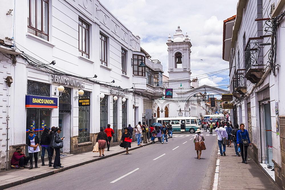 Historic City of Sucre, UNESCO World Heritage Site, Bolivia, South America
