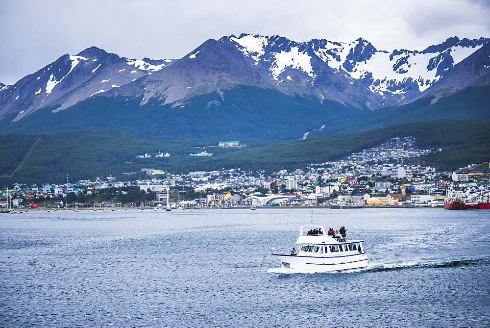 Beagle Channel boat navigation, Ushuaia, Tierra Del Fuego, Patagonia, Argentina, South America