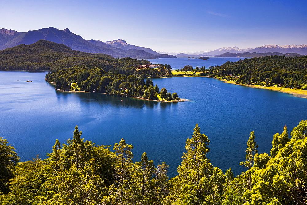 Lago Perito Moreno Oeste on the San Carlos de Bariloche mini circuit, Rio Negro Province, Patagonia, Argentina, South America