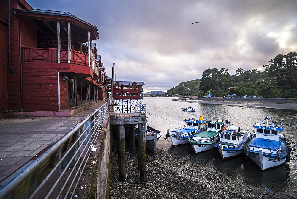 Angelmo fish market, Puerto Montt, Chile, South America