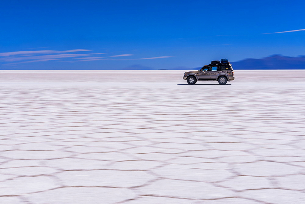 A 4WD Tour of Uyuni Salt Flats (Salar de Uyuni), Uyuni, Bolivia, South America