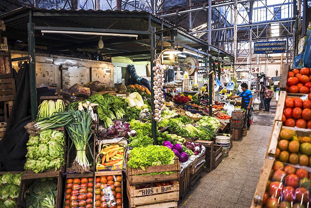 San Telmo Market (Mercado San Telmo), Buenos Aires, Argentina, South America