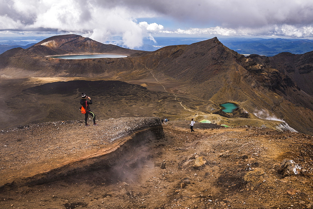 Tongariro Alpine Crossing Trek, Tongariro National Park, UNESCO World Heritage Site, North Island, New Zealand, Pacific