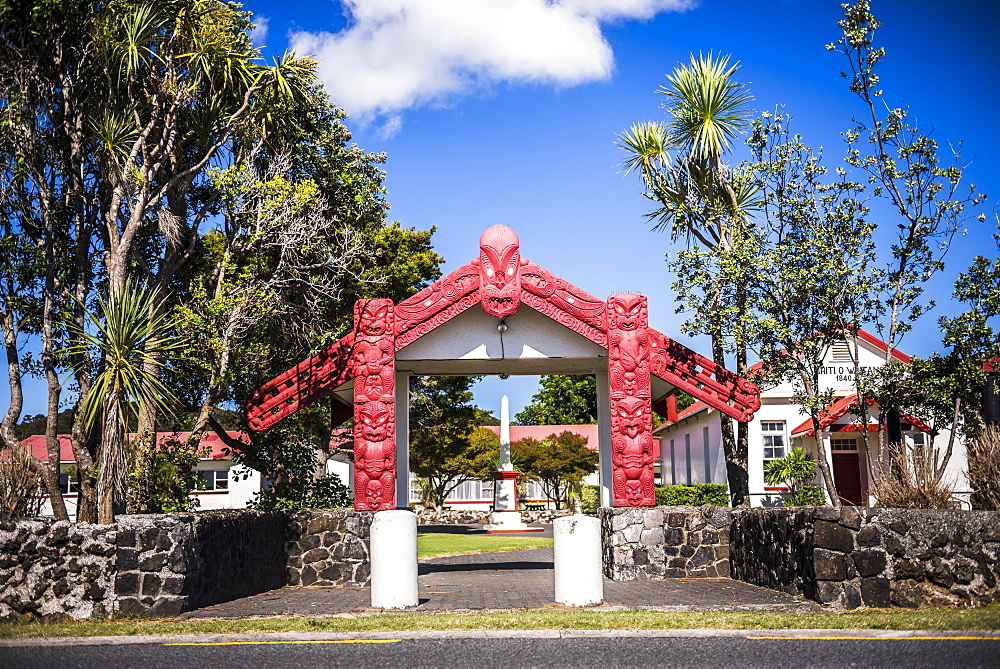 Maori Church, Waitangi Treaty Grounds, Bay of Islands, Northland Region, North Island, New Zealand, Pacific