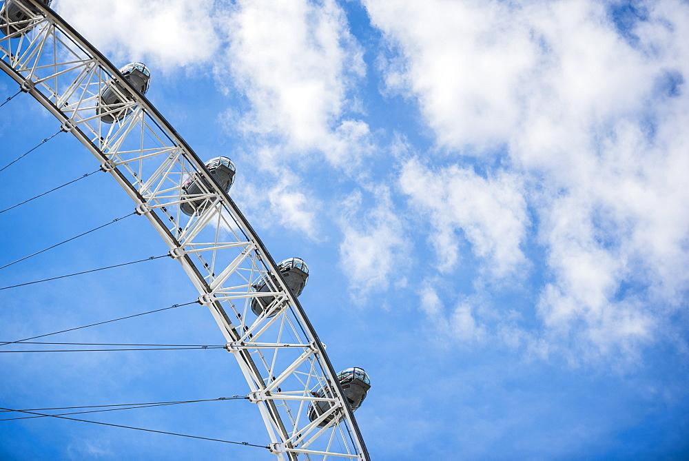 London Eye (Millennium Wheel), London Borough of Lambeth, London, England, United Kingdom, Europe