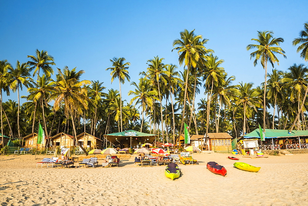 Palolem Beach, Goa, India, Asia - 1109-3144