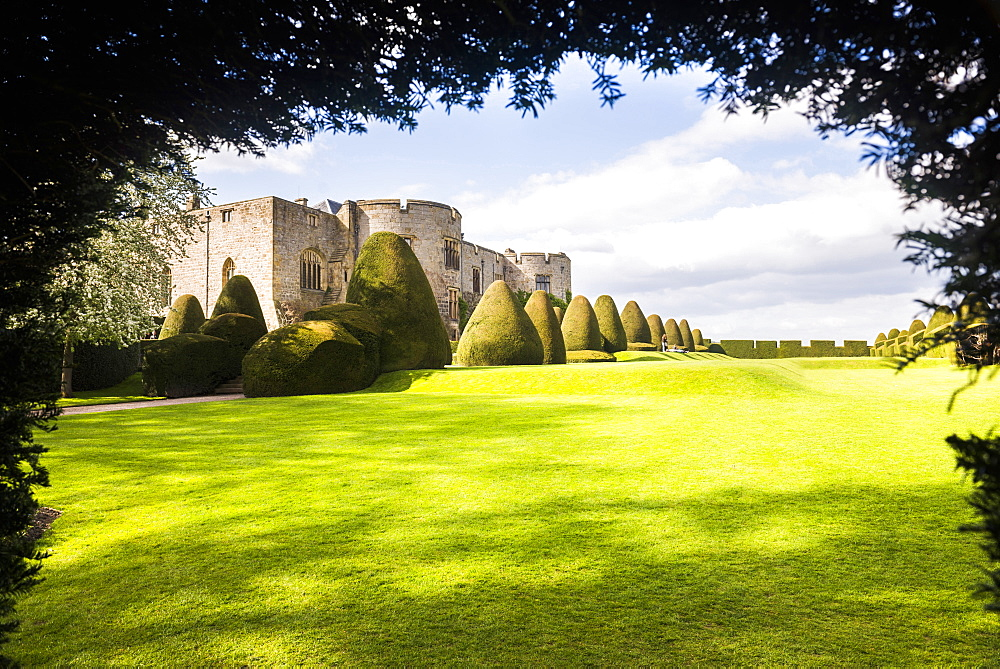 Chirk Castle, near Wrexham, North Wales