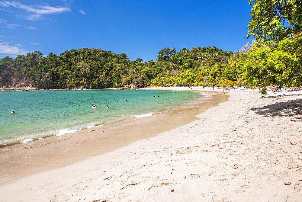 Manuel Antonio Beach, Manuel Antonio National Park, Pacific Coast, Costa Rica, Central America