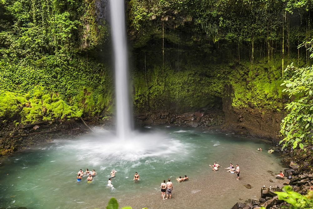 La Fortuna Waterfall, Alajuela Province, Costa Rica, Central America