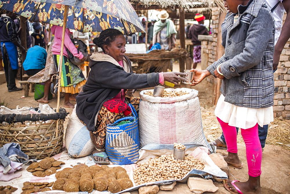 Andohasana Market, near Ranomafana, Madagascar Central Highlands, Madagascar, Africa - 1109-3569