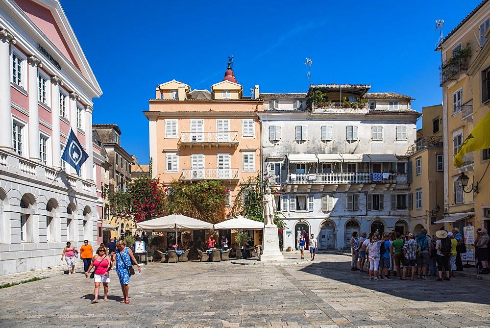 Corfu Old Town (Kerkyra), Corfu Island, Ionian Islands, Greece