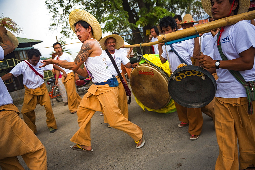 Festival in Inle Lake, Shan State, Myanmar (Burma), Asia