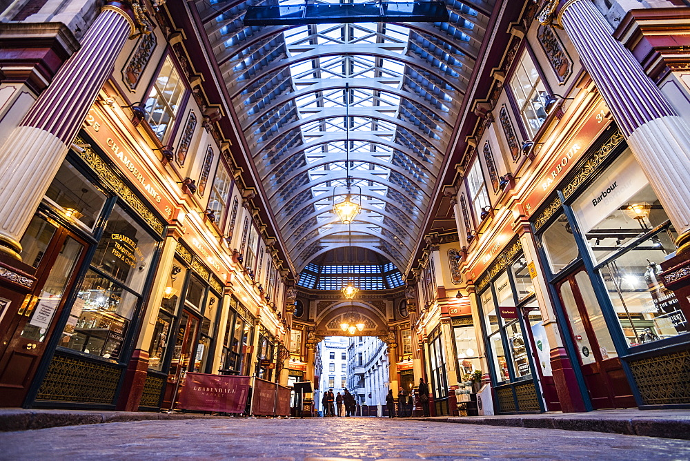 Leadenhall Market, City of London, London, England - 1109-3740