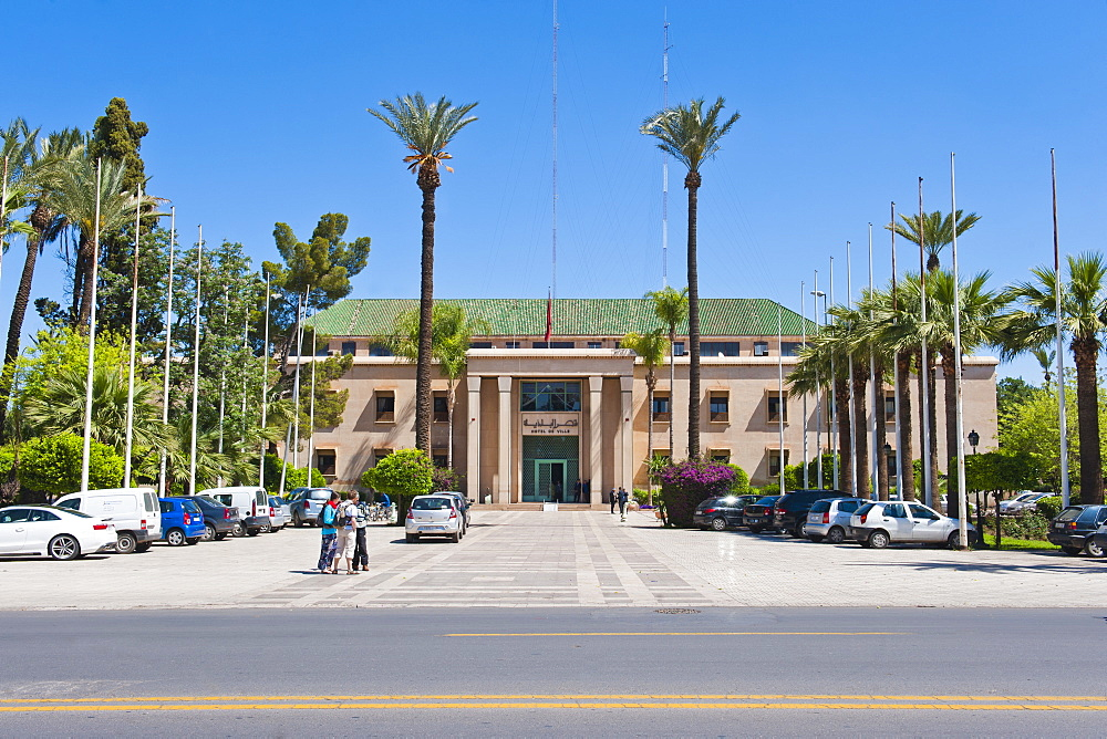 Hotel de Ville, a smart, luxury hotel in Marrakech, Morocco, North Africa, Africa