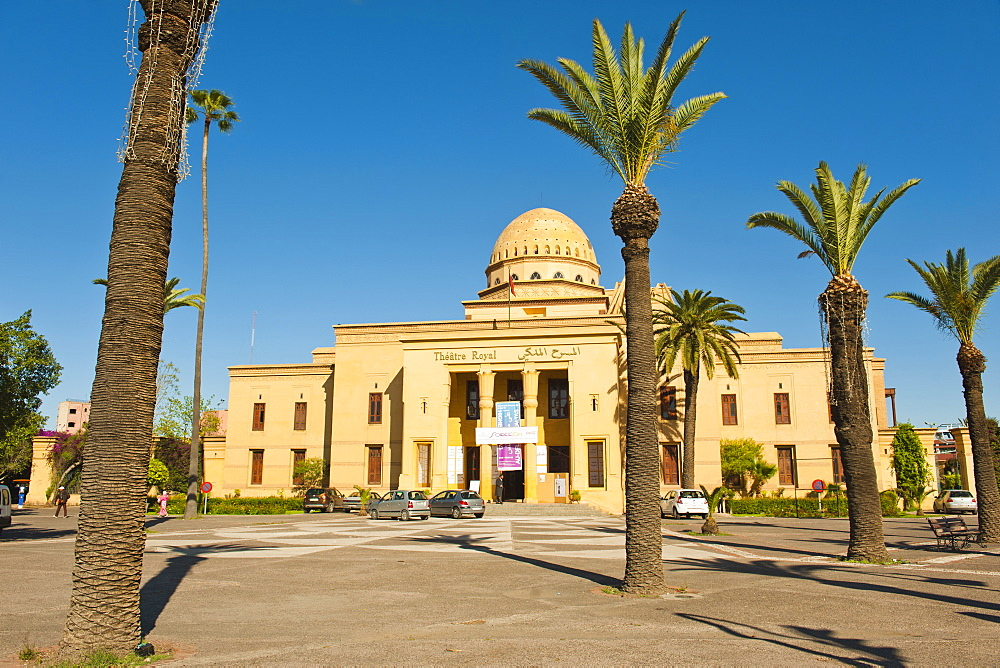 Theatre Royal (Royal Theatre), Marrakech, Morocco, North Africa, Africa