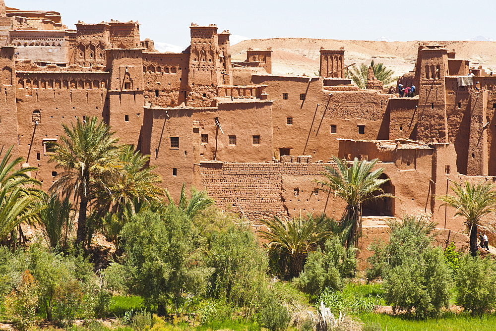 Kasbah Ait Ben Haddou, UNESCO World Heritage Site, near Ouarzazate, Morocco, North Africa, Africa