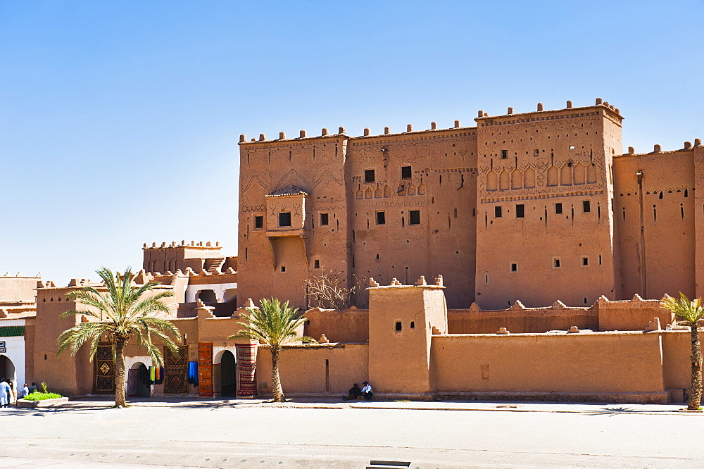 Taourirt Kasbah in Ouarzazate, Morocco, North Africa, Africa