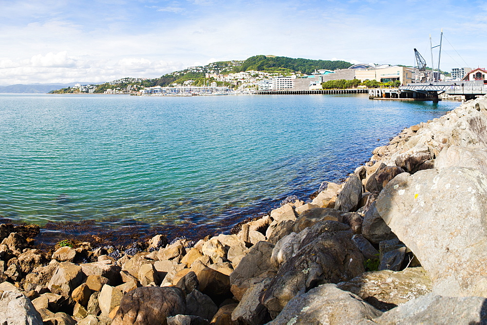 Wellington Harbour, North Island, New Zealand, Pacific