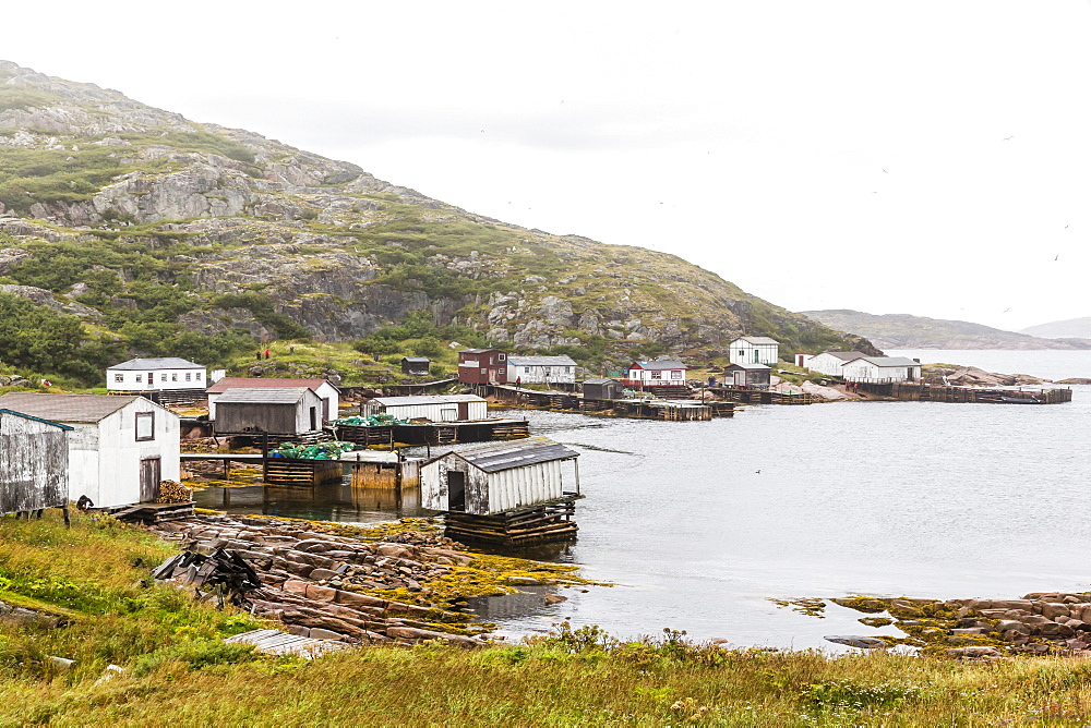 The small fishing village at Cape Charles, Labrador, Canada, North America