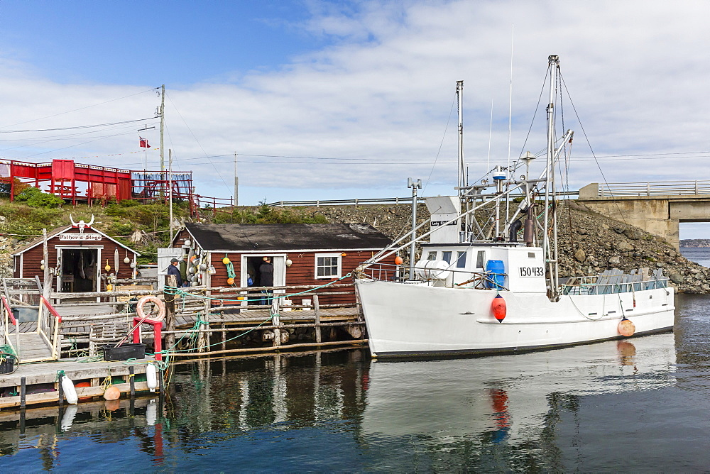 The Prime Berth Fishing Heritage Center in Twillingate, Newfoundland, Canada, North America