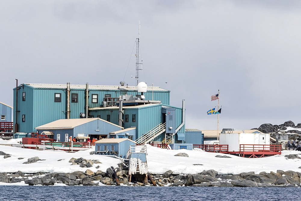 The United States Antarctic Research base at Palmer Station, Antarctica, Polar Regions