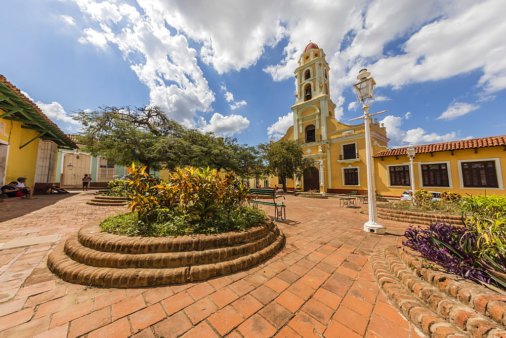 The Convento de San Francisco, Trinidad, UNESCO World Heritage Site, Cuba, West Indies, Caribbean, Central America