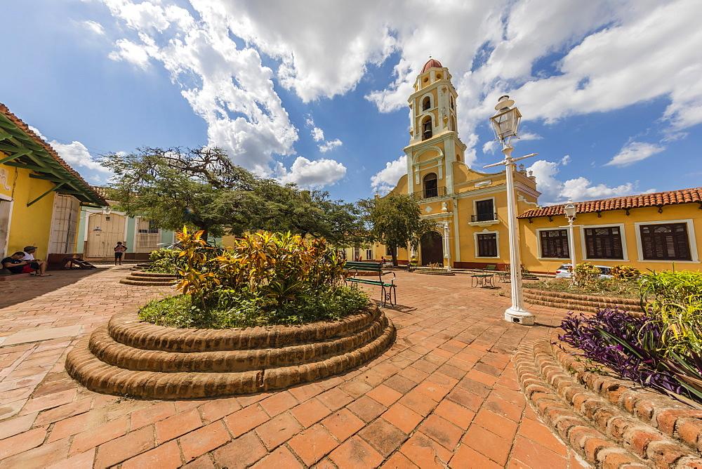 The Convento de San Francisco in the UNESCO World Heritage town of Trinidad, Cuba.
