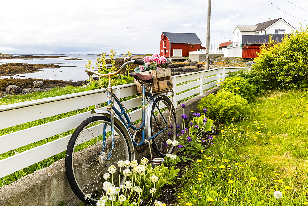 The fishing village of Veilholmen on the island of Smola, Norway, Scandinavia, Europe