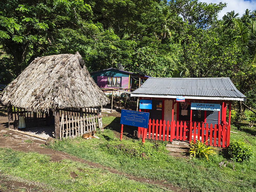 Vurevure Settlement on Taveuni Island, Vanua Levu Group, Republic of Fiji, South Pacific Islands, Pacific