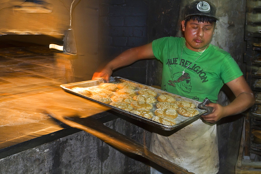 El Bolero bakery, Santa Rosalia, Gulf of California (Sea of Cortez), Baja California Sur, Mexico, North America