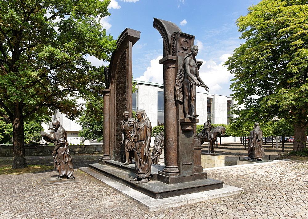 Platz der Goettinger Sieben, Hannover, Lower Saxony, Germany