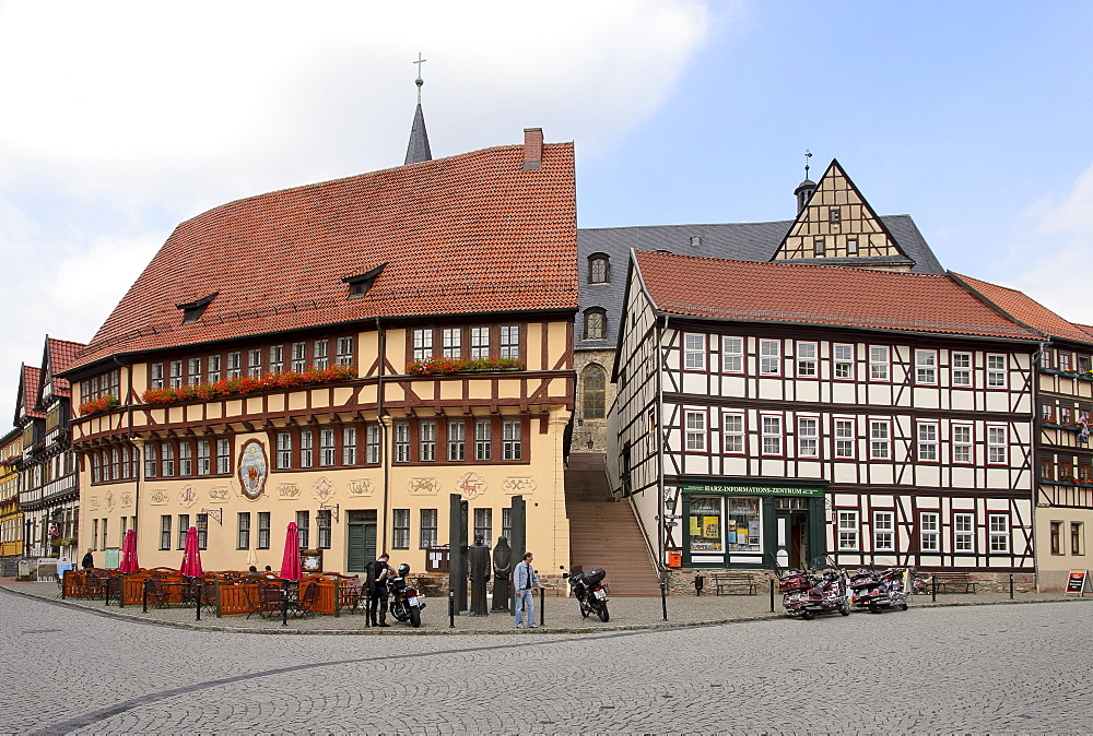 Town hall in Stolberg, Harz, Saxony-Anhalt, Germany, Europe