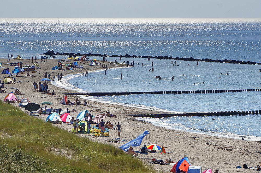 Ahrenshoop beach, Baltic Sea, Fischland-Darss-Zingst, Mecklenburg-Western Pomerania, Germany