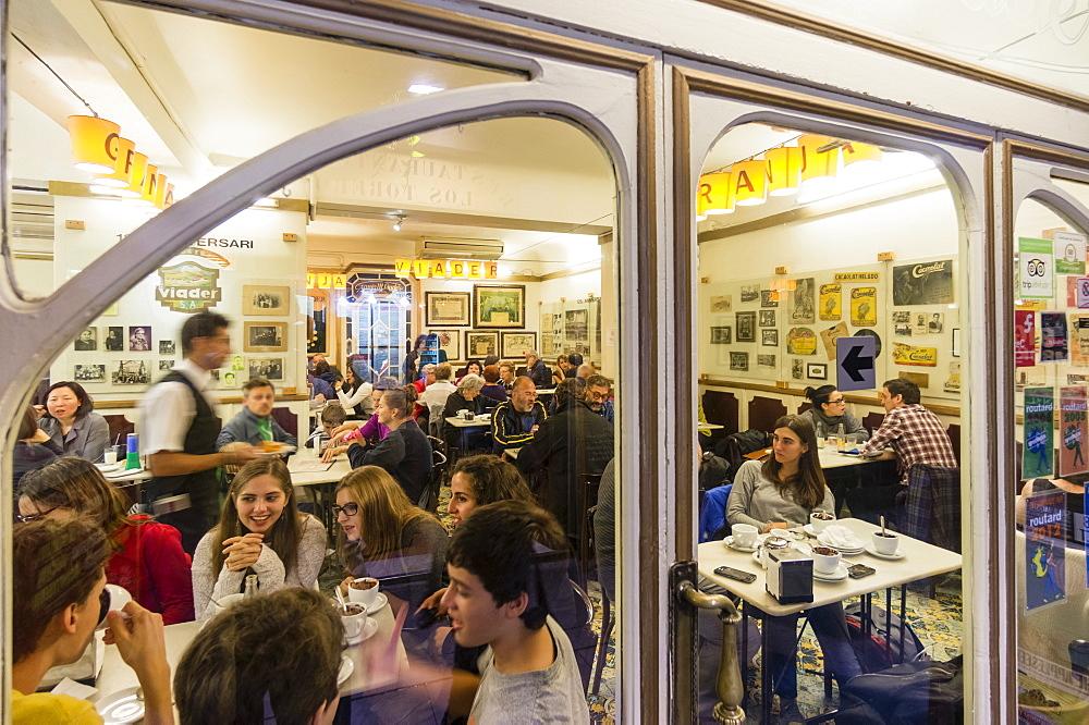 La Granja Viader, Milk Bar, Cafe, Raval, Barcelona, Spain