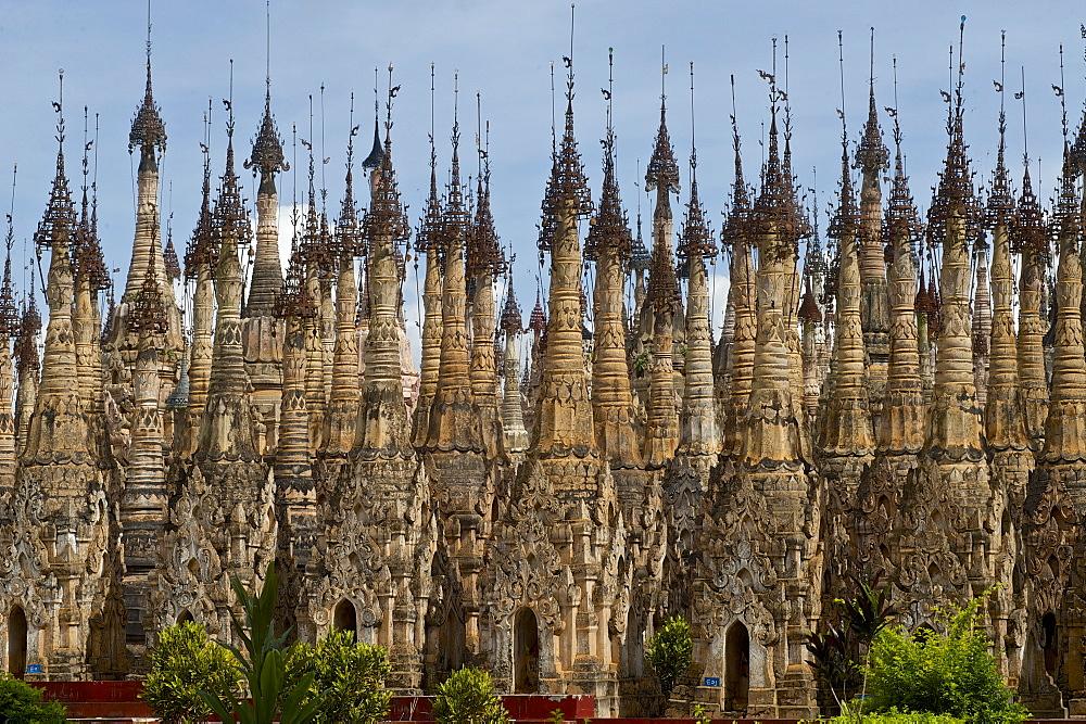Kakku pagoda field, day trip from Inle Lake, Shan State, Myanmar, Burma