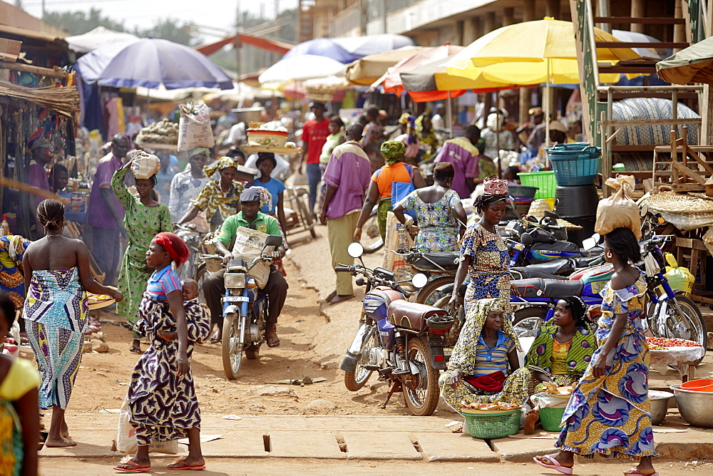 Market, Bohicon, Zou Department, Benin