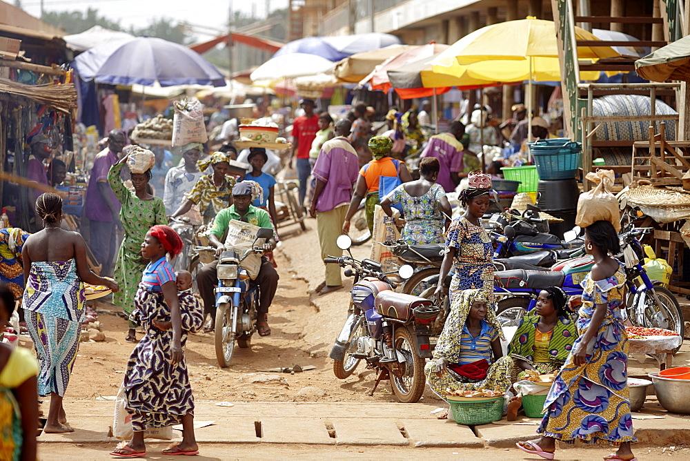 Market, Bohicon, Zou Department, Benin