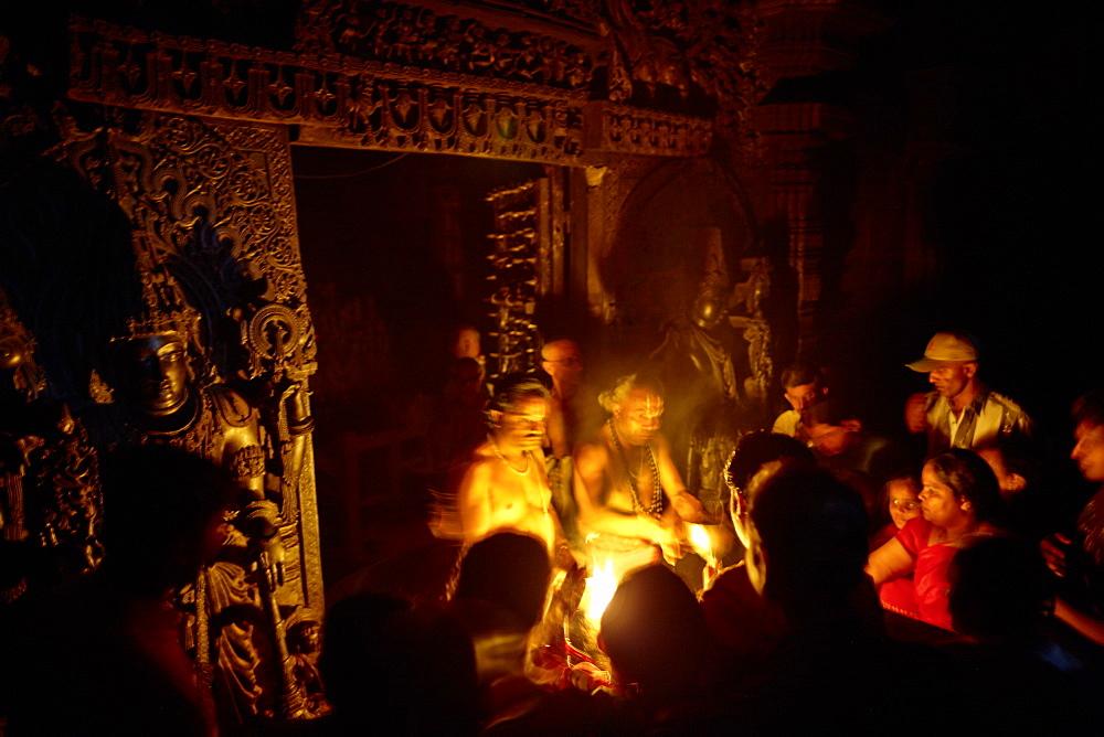 Procession, Chennakeshava Temple, Belur, Karnataka, India