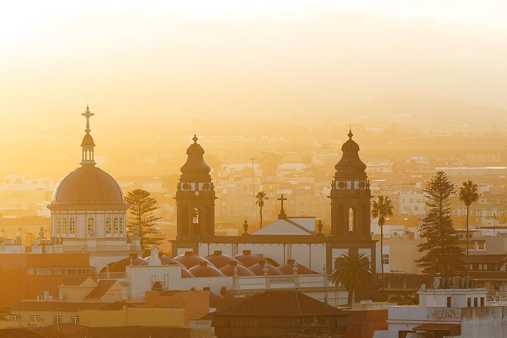Catedral Nuestra Senora de los Remedios, cathedral, San Cristobal de La Laguna, UNESCO world heritage, La Laguna, town, Tenerife, Canary Islands, Spain, Europe
