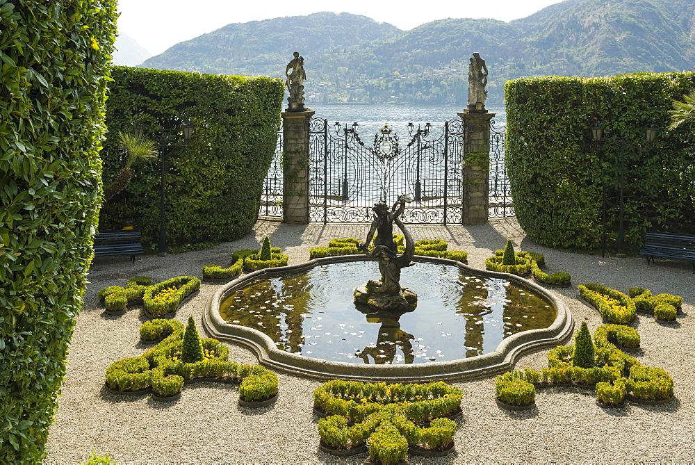 Villa Carlotta gardens, Tremezzo, Lake Como, Lago di Como, Province of Como, Lombardy, Italy