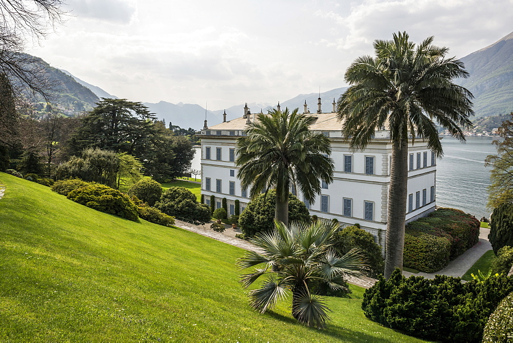 Villa Melzi, Bellagio, Lake Como, Lago di Como, Province of Como, Lombardy, Italy