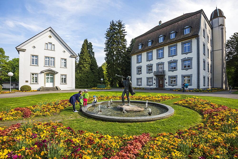 Schloss Schoenau, Bad Saeckingen, Black Forest, Baden-Wuerttemberg, Germany