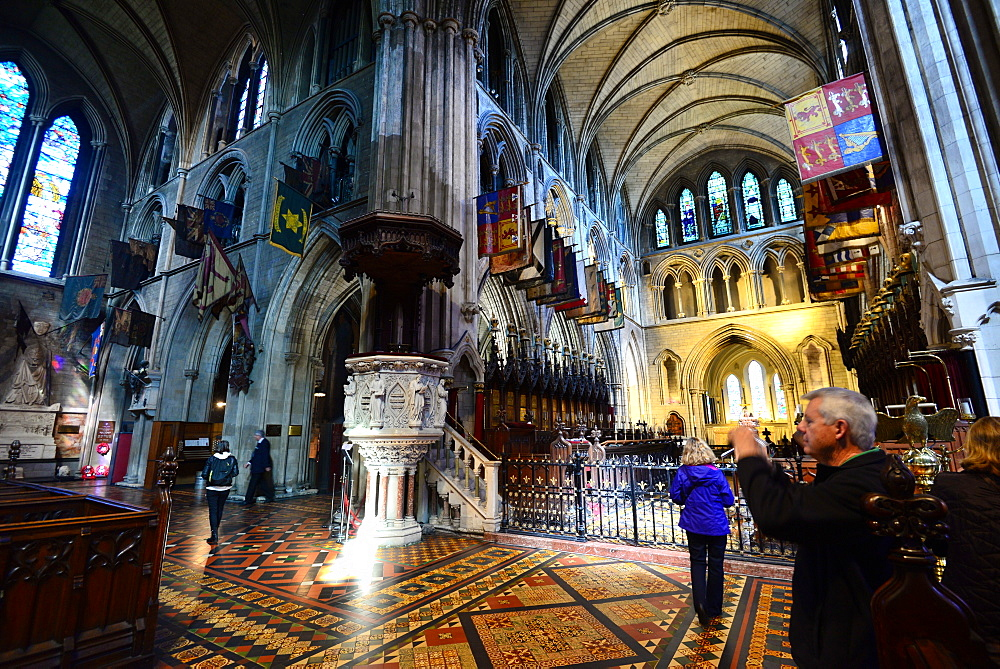 In St. Patrick's Cathedral, Dublin, Ireland